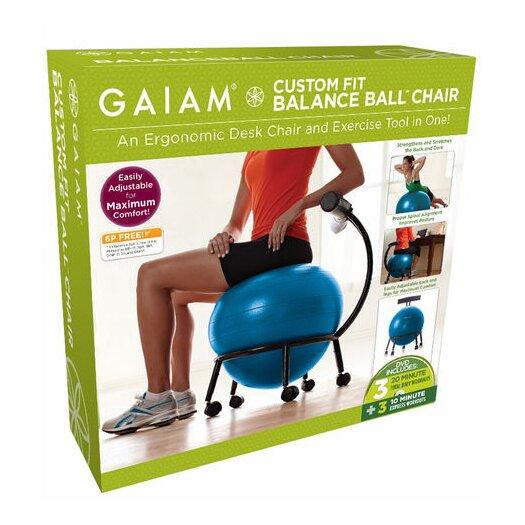 Gaiam Custom Fit Balance Ball Chair
