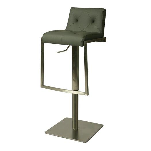 Pastel Furniture Adijon Adjustable Height Swivel Bar Stool