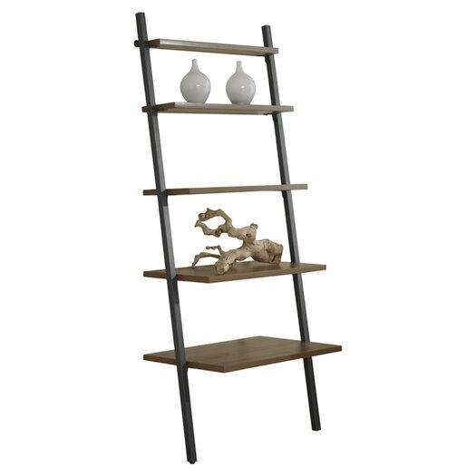 Jesper Office Parson Five Tier Ladder Bookcase