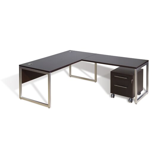 Jesper Office Jesper Office Writing Desk 2 with 48-in Return