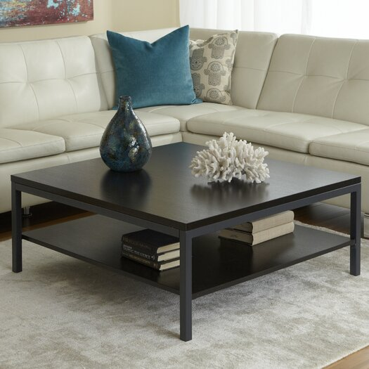 Jesper Office Jesper Office P3939S Square Coffee Table with Shelf