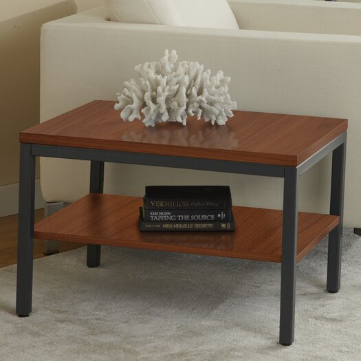 Jesper Office Parson End Table with Shelf