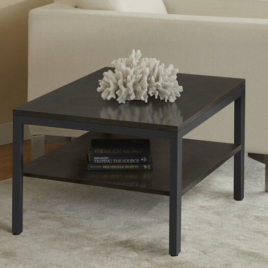 Jesper Office Square Corner Table with Shelf