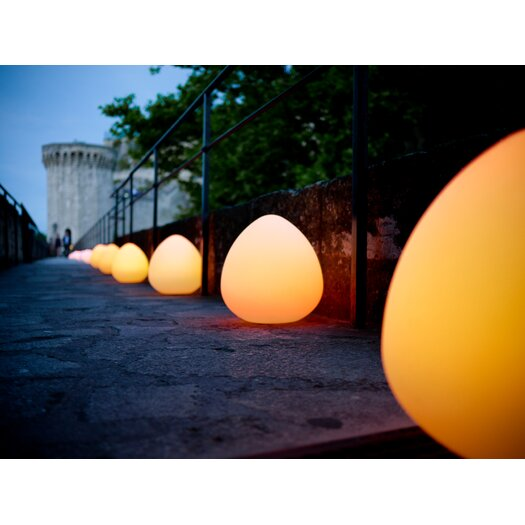 "Smart & Green Rock LED 13"" H Lamp"