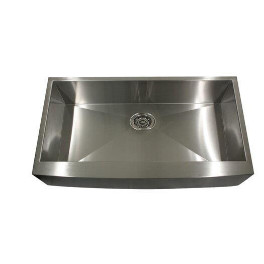 "Nantucket Sinks 28"" x 18"" Undermount Pro Series Single Bowl Kitchen Sink"