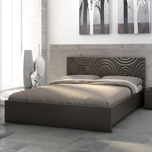 Stellar Home Furniture Sienna Circles Platform Bed
