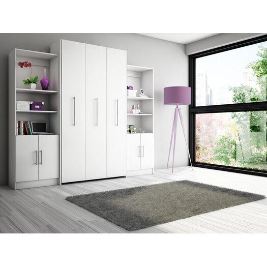 Stellar Home Furniture Eva Multimedia Storage Unit with Doors