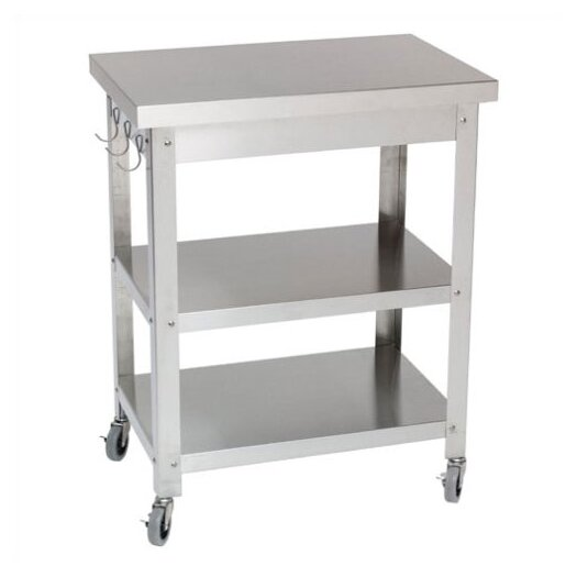 Danver Cocina Kitchen Serving Cart