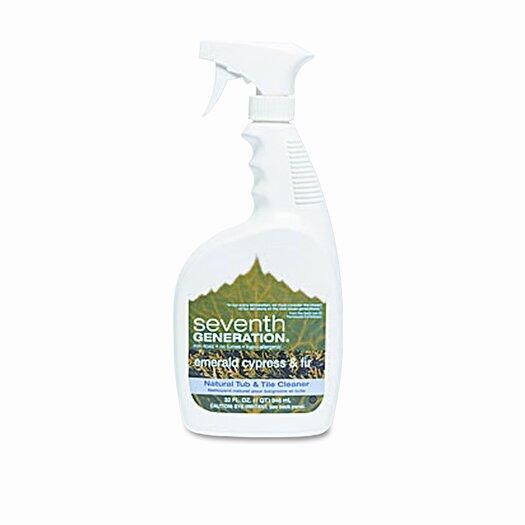 Seventh Generation Natural Tub & Tile Cleaner 32 oz. Bottle