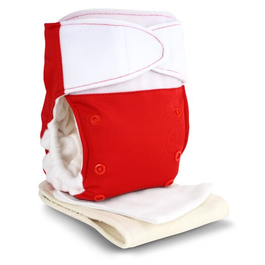 Babykicks Premium One Size Hook & Loop Closure Cloth Diaper