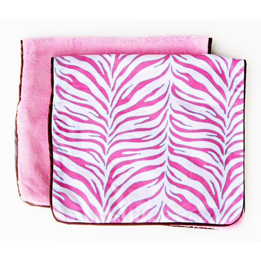 Caden Lane Boutique Zebra Burp Set