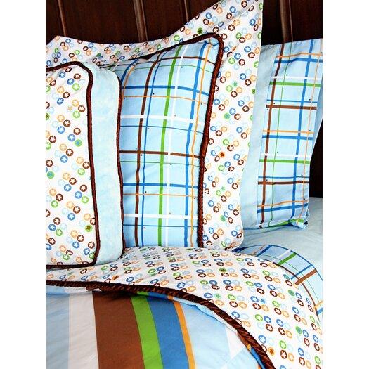 Caden Lane Boutique Boy Square Pillow