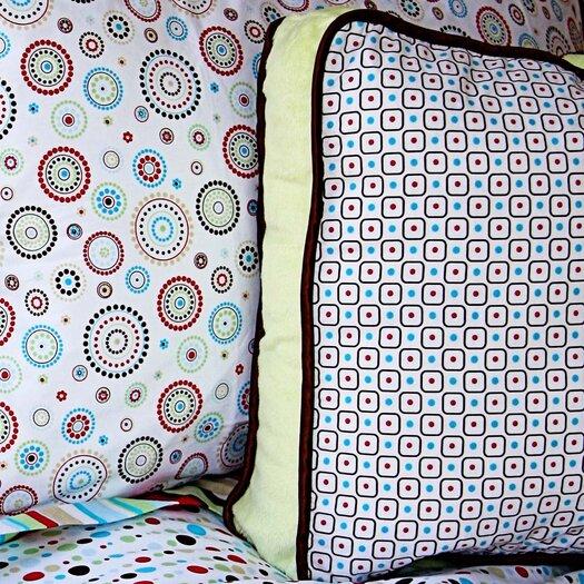 Caden Lane Classic Neutral Square Cotton Pillow