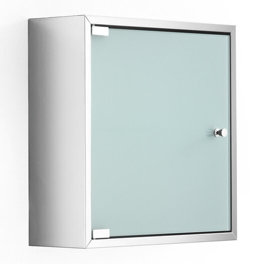 "WS Bath Collections Linea Pika 15.75"" x 15.7"" Surface Mount Medicine Cabinet"
