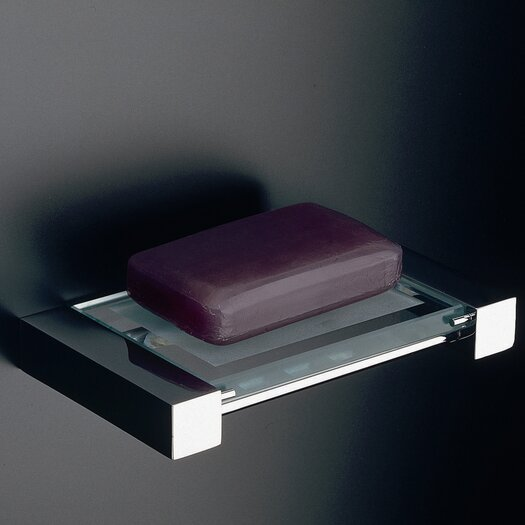 WS Bath Collections Complements Metric Wall Mounted Soap Dish