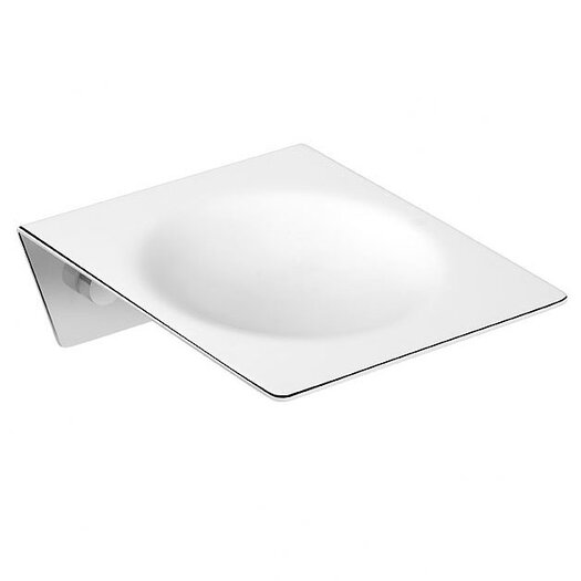 WS Bath Collections Kubic Class Soap Dish