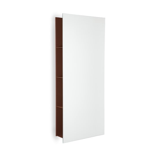 WS Bath Collections Dedrio Wall Mirror with Shelves