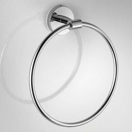 WS Bath Collections Duemilla Wall Mounted Towel Ring