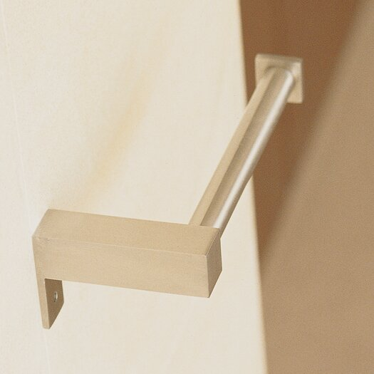WS Bath Collections Metric Wall Mounted Toilet Paper Holder