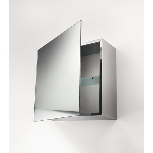 "WS Bath Collections Linea Pika 17.7"" x 17.7"" Surface Mount Medicine Cabinet"