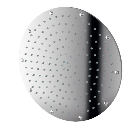"WS Bath Collections Linea 11.8"" x 11.8"" Round Supioni Shower Head"