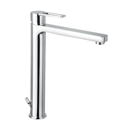 WS Bath Collections Ringo Single Hole Bathroom Faucet with Single Handle