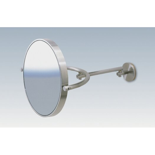 WS Bath Collections Mirror Pure WS1 5X Magnifying Makeup Mirror