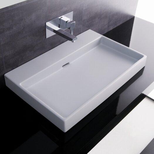 WS Bath Collections Ceramica I Urban Ceramic Bathroom Sink