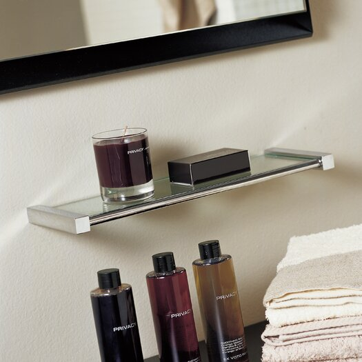 "WS Bath Collections Metric 15.7"" Bathroom Shelf"