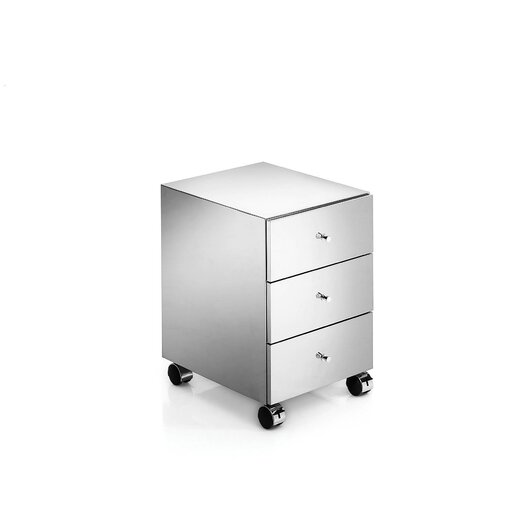 """WS Bath Collections Linea 13.8"""" Runner Free Standing Storage Unit"""