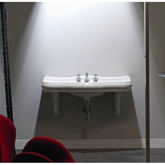 WS Bath Collections Kerasan Retro Wall Mount Bathroom Sink