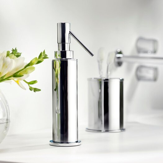 WS Bath Collections Kubic Cool Soap Dispenser