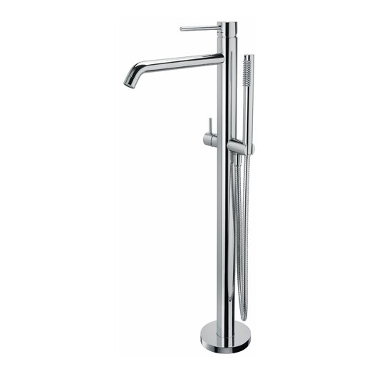 WS Bath Collections Fonte Light Diverter Shower Faucet Lever Handle