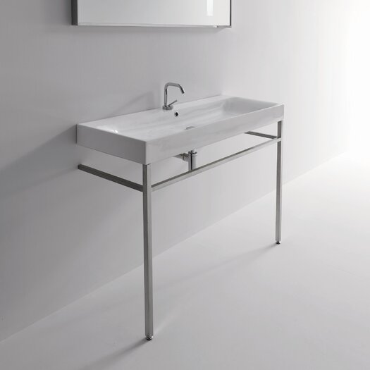 WS Bath Collections Kerasan Cento Free Standing Bathroom Sink