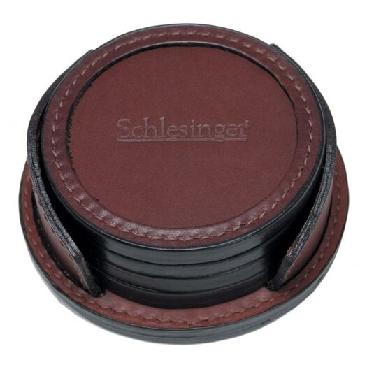 Korchmar Leather Coasters