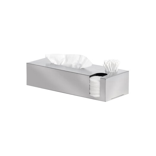 Blomus Nexio Tissue Box & Cotton Swab & Pads Dispenser