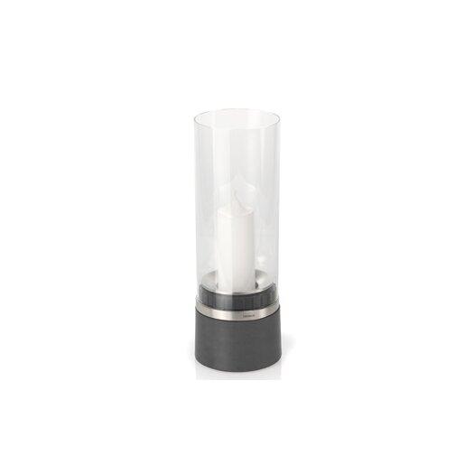 Blomus Piedra Glass Hurricane Candle Holder