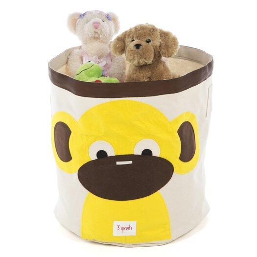 3 Sprouts Monkey Storage Bin