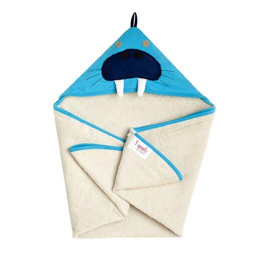 Blue Walrus Hooded Towel