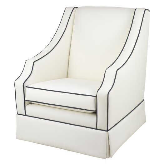 Oilo Cohen Glider - White Faux Leather