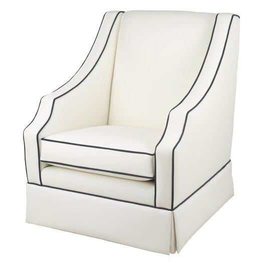 Oilo Cohen Glider - White Faux Leather