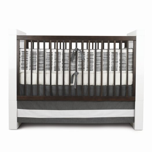 Oilo Sticks Motif Crib Bedding Set