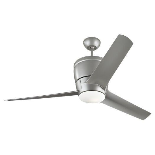 "Monte Carlo Fan Company 52"" Vectra Max 3 Blade Ceiling Fan with Remote"