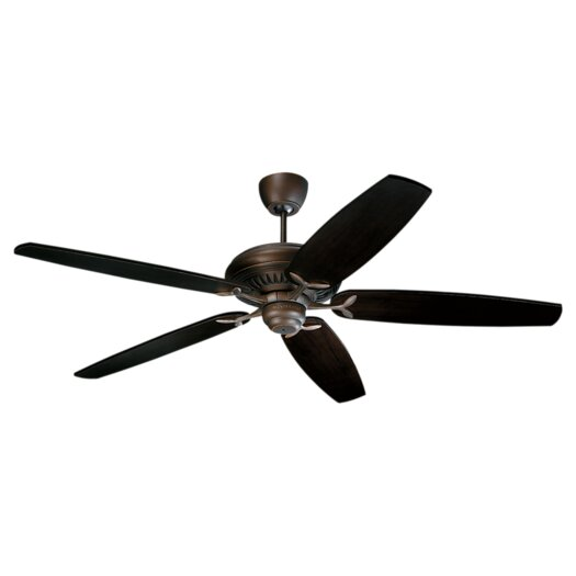 "Monte Carlo Fan Company 60"" DC60 5 Blade Ceiling Fan with Remote"