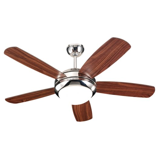 """Monte Carlo Fan Company 44"""" Discus II 5 Blade Ceiling Fan"""