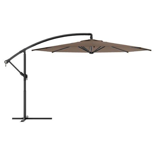 "dCOR design 144"" CorLiving Offset Patio Umbrella"