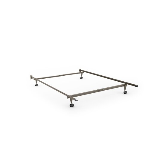 dCOR design Brook Bed Rails with Headboard Attachment