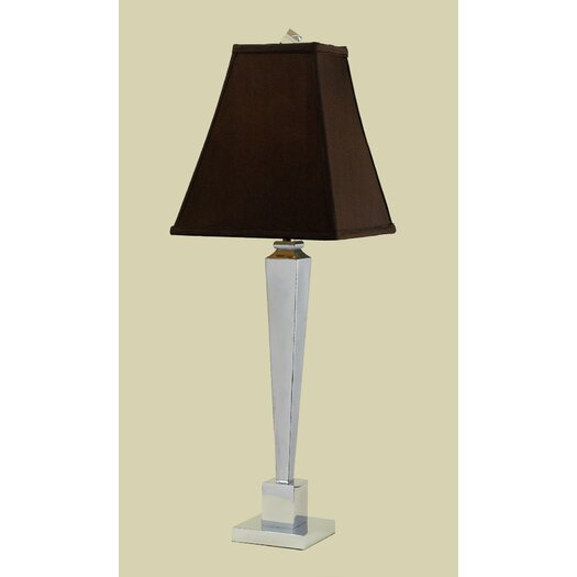 "AF Lighting Margo 32"" H Table Lamp with Square Shade"