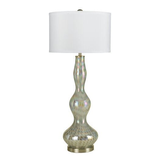 """AF Lighting Jean 37"""" H Table Lamp with Drum Shade"""