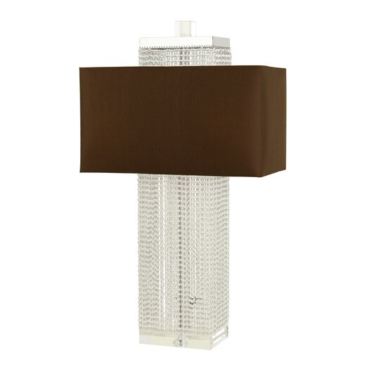 """AF Lighting Casby 29"""" H Table Lamp with Rectangle Shade"""